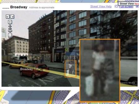 Erabiltzaileek Google Street Vieweko autoek pasieran zeudela argazkiak atera dizkietela salatu dute