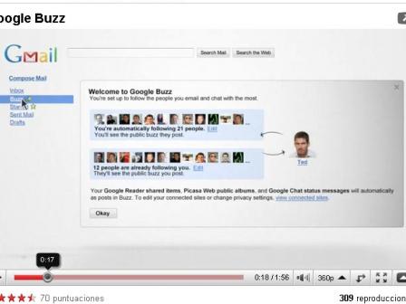 Buzz ez da Facebooki aurre egiteko gai izan.