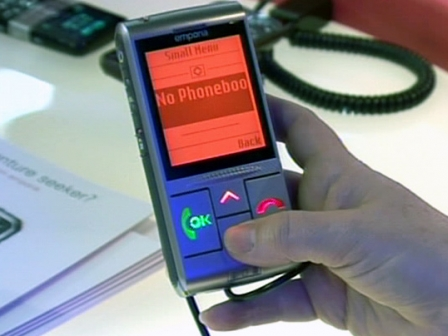 Windows Phone 7 aurkeztu du Microsoft konpainiak Arrasaten. Argazkia: EITB