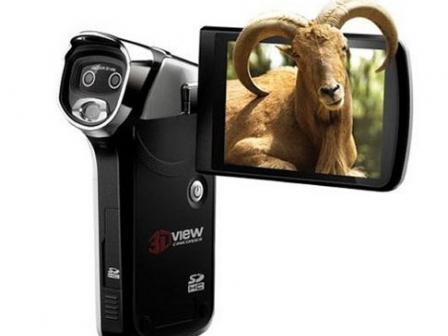 Hammacherren 3Dko bideo-kamera berria. Argazkia: Hammacher.com