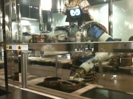 Munduko lehen robot-tabernaria
