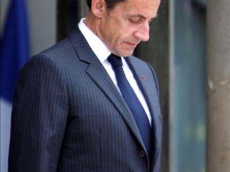 El presidente francés, Nicolas Sarkozy. Foto: EFE