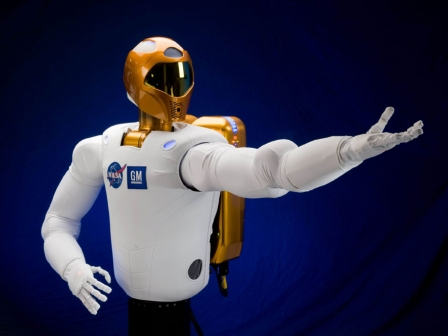 NASAren R-2 robota. Argazkia: EFE