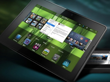 PlayBook tableta, Blacberryren gailu berria. Argazkia: RIM