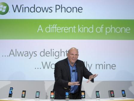 Steve Ballmer Microsoft konpainiako kontseilari delegatua. Argazkia: EFE