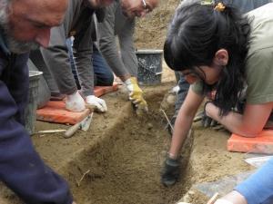 exhumacion la tejera foto: gobierno vasco