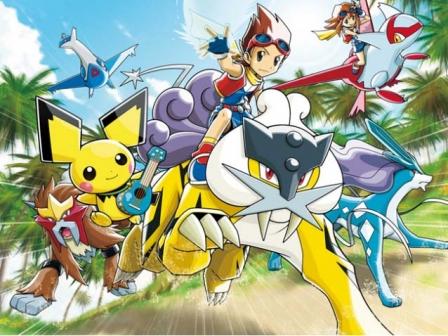 'PO'Pokemon Ranger: Trazos de luz' bideo-jokoaren irudi bat. Argazkia: Nintendo