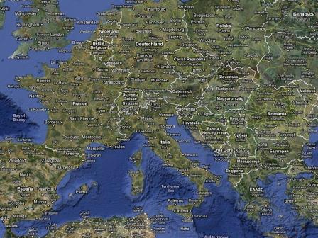 Google Maps-etik hartutako irudia.