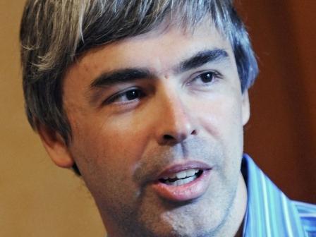 Larry Page Googleren sortzaileetako bat. EFE