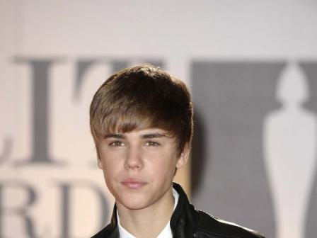 Justin Bieber, Brit Sarietako azken ekitaldian. EFE
