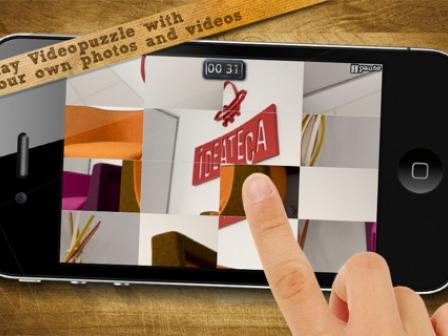 'VideoPuzzle!' bideojokoaren irudia. Argazkia: Apple Store