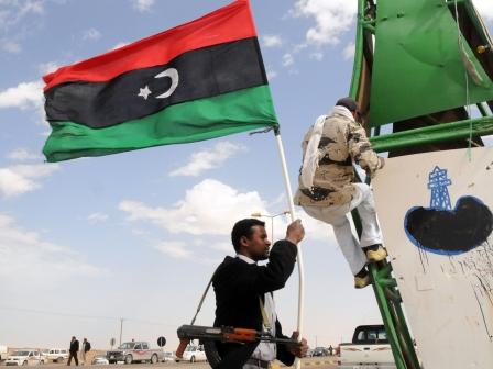 Révolte anti-Kadhafi en Libye. Photo: Mikel Ayestarán