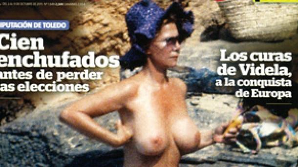 Imagen de la portada que ha publicado hoy 'Interviú'. Foto: 'Interviú'