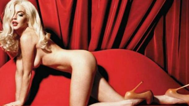 cover Lindsay lohan playboy