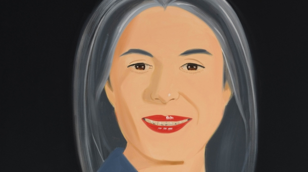 'Ada Smiles' (1994) by Alex Katz.