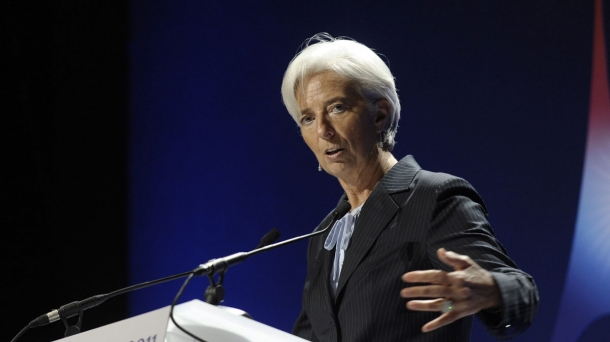 International Monetary Fund (IMF) Managing Director, Christine Lagarde.