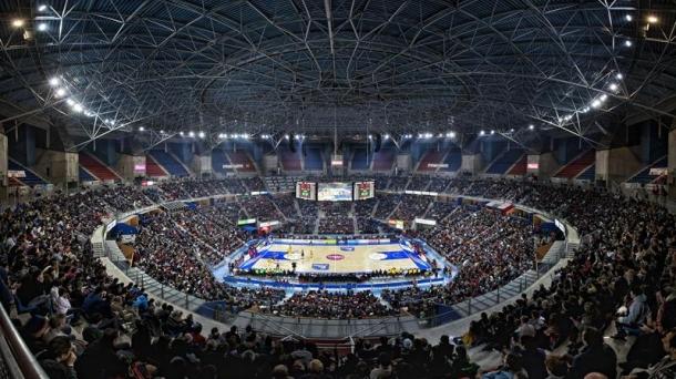 Buesa Arena, berritua. Argazkia: EFE
