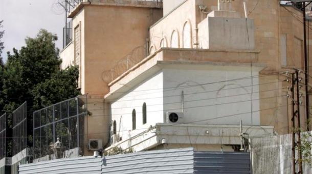 AEBak Damaskon duen enbaxada.