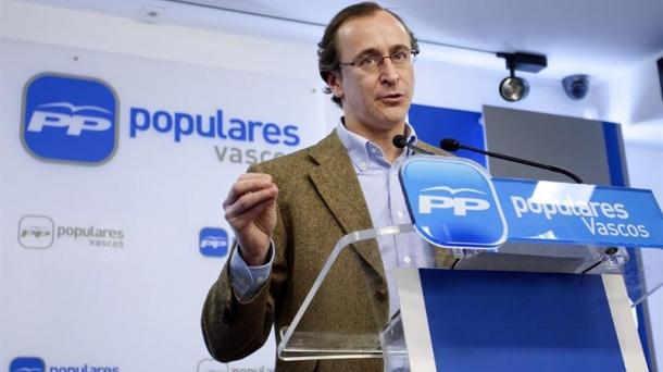 Alfonso Alonso Kongresuko PPren bozeramailea.
