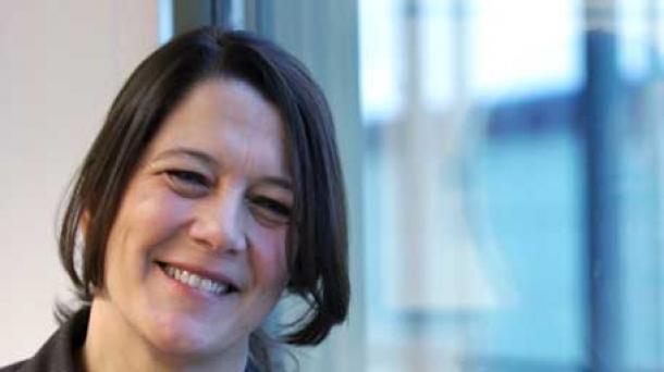 Lourdes Fernández, directora del centro de cultura y ocio Alhóndiga