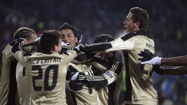 Octavos de final (ida): Zenit-Benfica (3-2). Foto: EFE