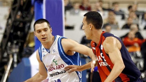 Salgado and Prigioni. Photo: EFE