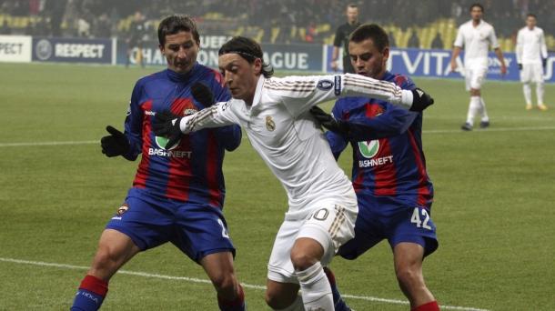 Octavos de final (ida): CSKA Moscú-Real Madrid (1-1). Foto: EFE