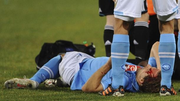 Octavos de final (ida): Nápoles-Chelsea (3-1). Foto: EFE