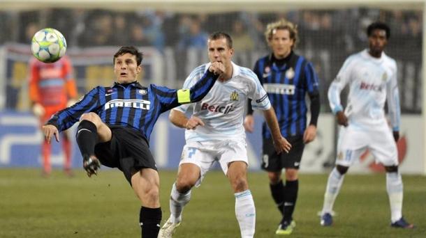 Octavos de final (ida): O. Marsella-Inter de Milán (1-0). Foto: EFE