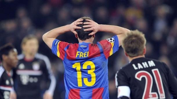 Octavos de final (ida): Basel-Bayern Munich 1-0). Foto: EFE