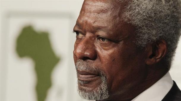 Kofi Annan NBEko idazkari nagusi ohia.