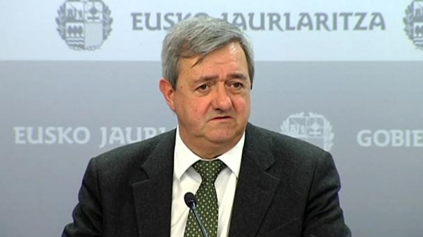 Carlos Aguirre Ekonomia sailburua.