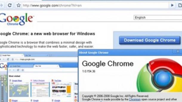 El navegador web de Google, Chrome. Foto: Google