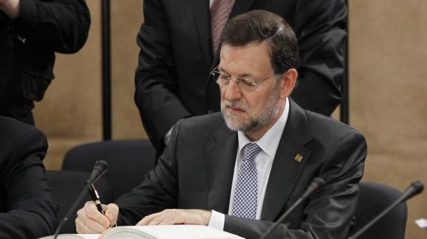 Mariano Rajoy, Gobernuko presidentea.