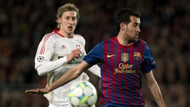 Octavos de final (vuelta): Barcelona-Bayer Leverkusen (7-1). Foto: EFE