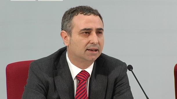 Melchor Gil, vicesecretario general del PSE-EE de Bizkaia. Foto: EITB