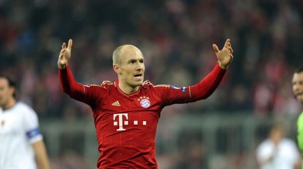 Octavos de final (vuelta): Bayern Munich-Basel (7-0). Foto: EFE