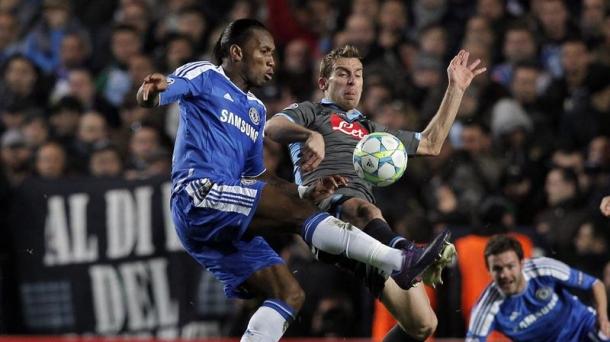 Octavos de final (vuelta): Chelsea-Napoli (4-1). Foto: EFE