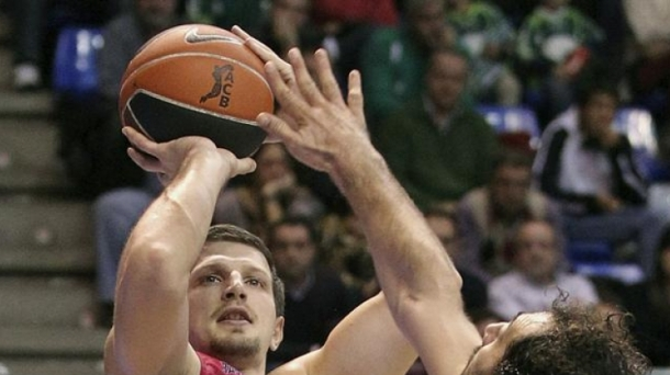 Former Caja Laboral player Mirza Teletovic. Photo: EFE
