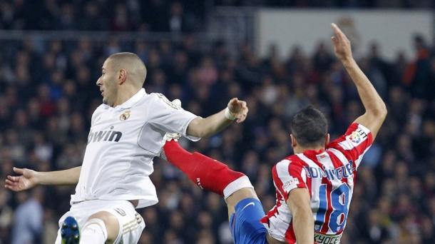 Real Madrid-Atlético, imagen de archivo. Foto: EFE
