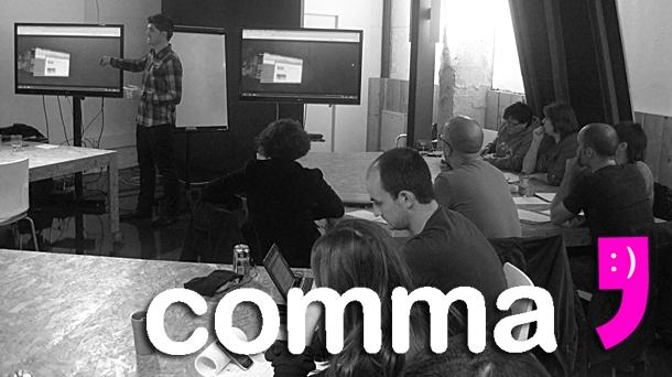 Comma, el curso orientado a la formación de responsables de comunidades on-line