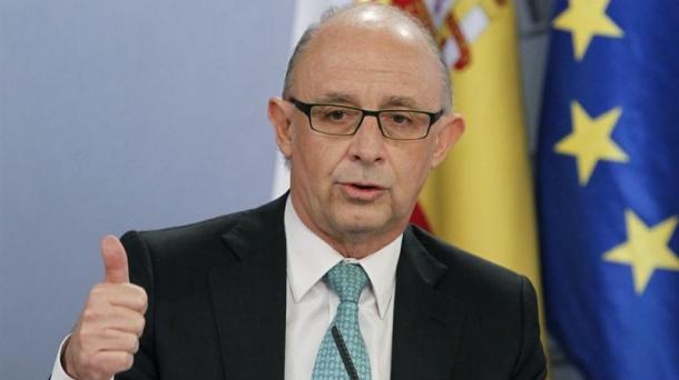 El ministro de Haciedan, Cristobal Montoro. Foto: EITB