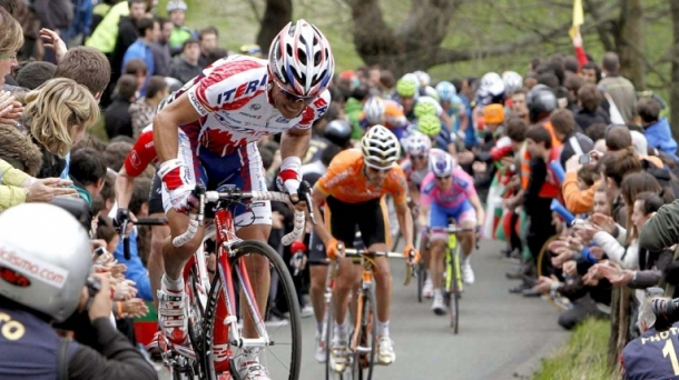 Rodriguez and Sanchez in the 2011 Basque race. Photo: EFE