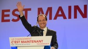 François Hollandek suspertu egin du ezker europarra