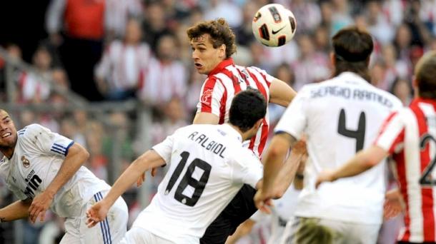 Real Madrid-Athletic, imagen de archivo.