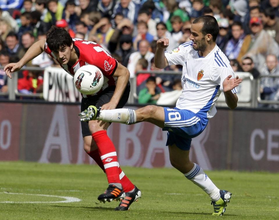 Zaragoza-Athletic (2-0) en la Romareda. Foto: EFE