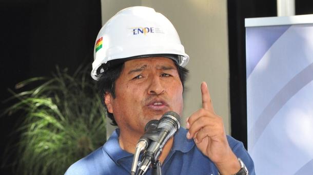 Evo Morales. Photo: EFE