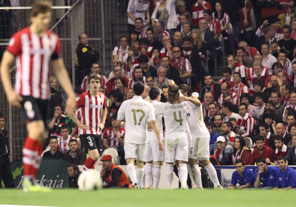 Athletic-Real Madrid (0-3). Foto: EFE