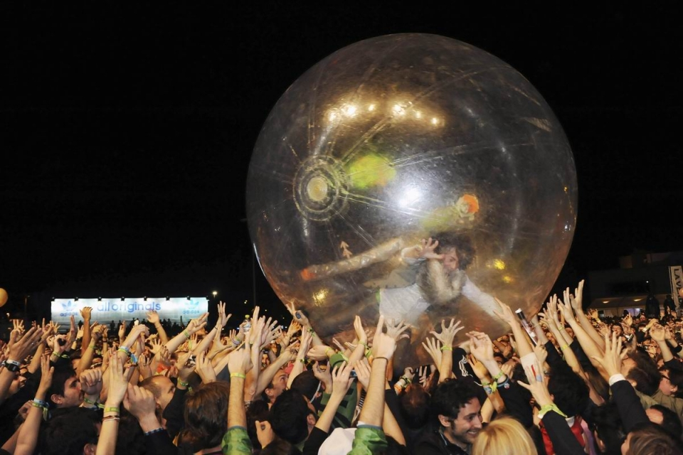 The Flaming Lips. Argazkia: EFE