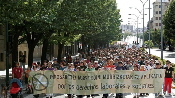 ELA y LAB convocan huelga general el 26 de septiembre.